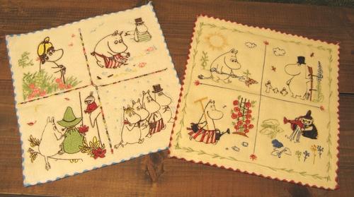 fd7f1a40ab65 PEIKKOオリジナルの「刺繍ハンカチタオル 600円+税」が2柄入荷!全面に繊細な刺繍が施されていて豪華♪ちょっとしたプレゼントにしても 喜ばれそうです。