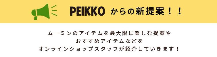 PEIKKOからの新提案