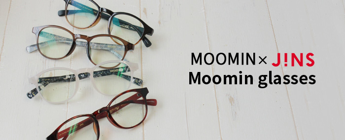 MOOMIN×JINSのPCメガネ