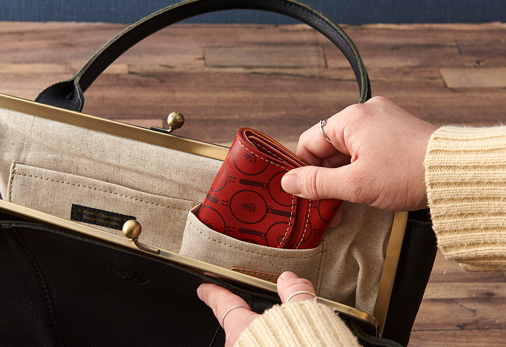 ムーミン ちいさいふ 小さいふ。 クアトロガッツ 小さい財布